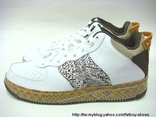 Air Jordan Force Fusion XX (20) Low - White / Gold