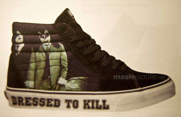 KISS x Vans Sk8-Hi - Dressed to Kill