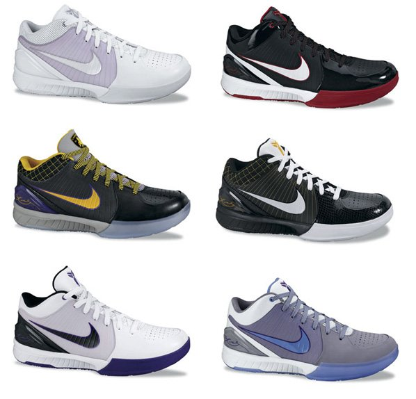 Lastly, the low-cut Kobe IV's are finished off with Kobe Bryant's autograph,