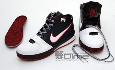 Nike Zoom Lebron VI - Black / White / Varsity Red
