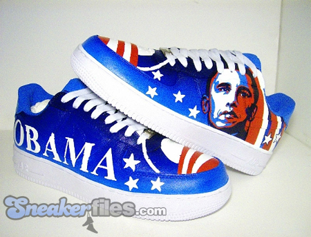 King of Sneakers Custom Footwear x Taboo - Obama Nike Air Force 1
