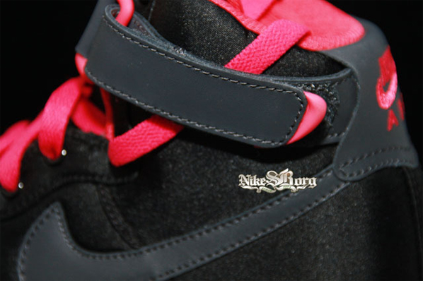 Nike Womens Air Force 1 High - Black / Pink