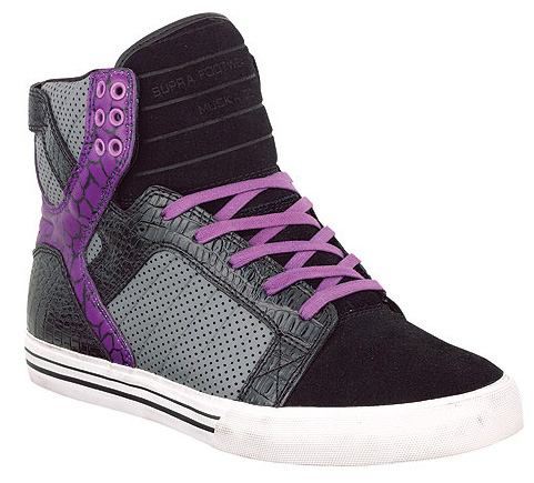 Supra Muska Skytop - Blue / Black | Purple / Black