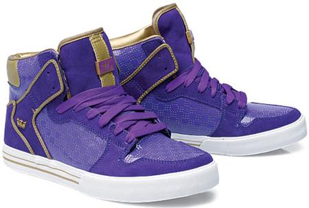 Supra Vaider - Purple / Gold