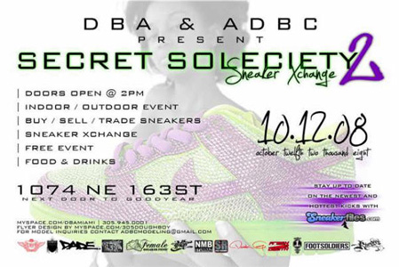 Secret Society 2: Sneaker Xchange
