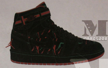 ... Hi Strap – Tribe Called Quest? Black / Varsity Red / Classic Green