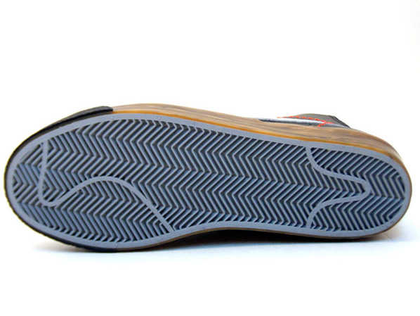 Nike Blazer High Premium - Game Select   Black / Silver / Wood