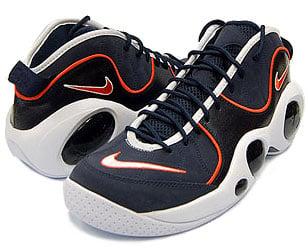 Nike Zoom Flight 95 Premium - Obsidian / White / Orange Blaze