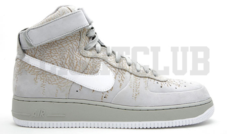 air force 1 cement print