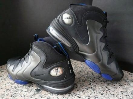 48471188721ee8 2009 Air Penny 3. Style   304845-002. Colorway Black Black-Varsity Royal  Retail Price  135