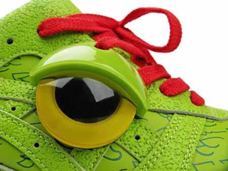 Alife Asics Green Monster Halloween Shoes