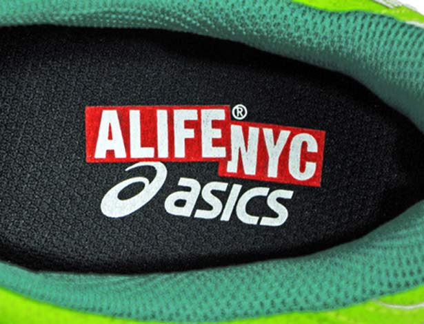 Alife Asics Green Monster Halloween Shoes