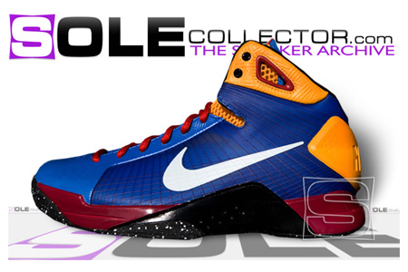newest a5fa5 6f5a3 Nike Hyperdunk - Ronaldinho  House of Hoops Exclusive
