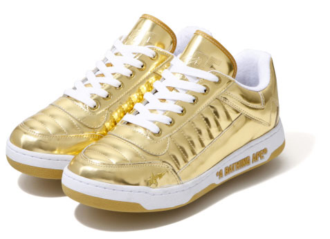 A Bathing Ape: Bapesta 88 Metallic Releases