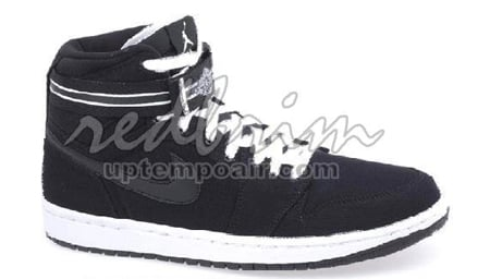 Air Jordan I (1) Retro High Strap - Black / White