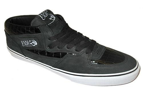 vans half cab LX croc (black)