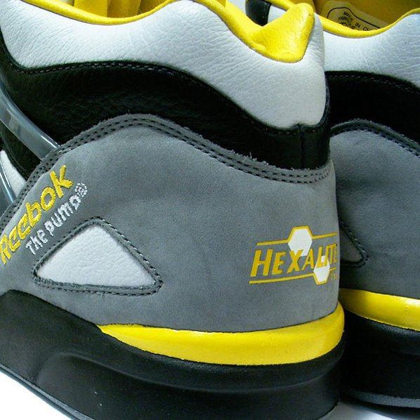 Reebok Pump Omni Lite - Black / Yellow / Grey