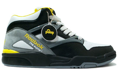 reebok pump omni lite black yellow grey sneakerfiles. Black Bedroom Furniture Sets. Home Design Ideas