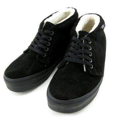 black vans chukka flc