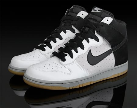 Nike Dunk High - Black / White / Grey