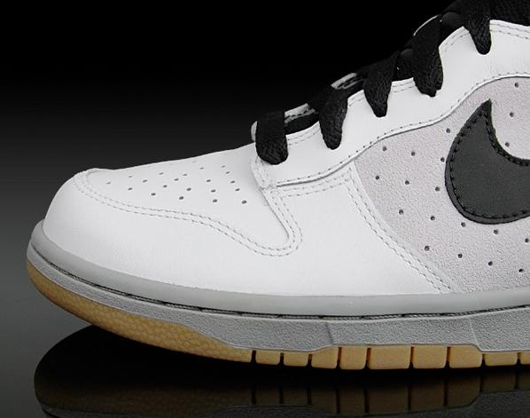 Nike Dunk High - Black / White / Grey