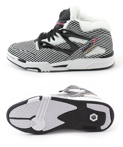 Reebok Artist Collection Pump Omni - Black / White