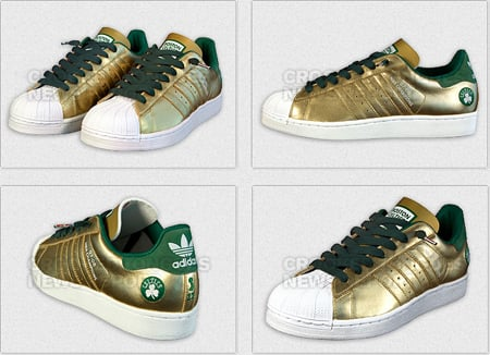 adidas Superstar - Boston Celtics