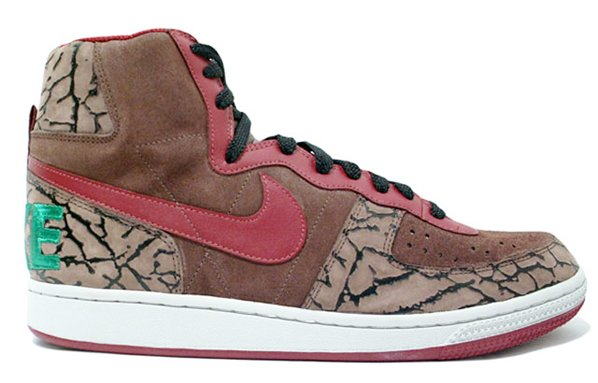 Nike Terminator High Premium - Brown   Green   Red  fdb925d8a