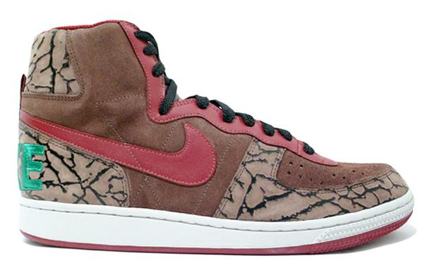 Nike Terminator High Premium - Brown / Green / Red