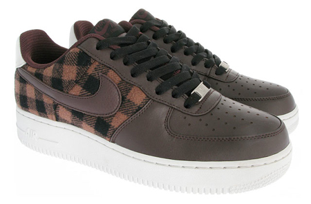 Nike Air Force 1 Premium - Boulder / Boulder - Light Bone - Black