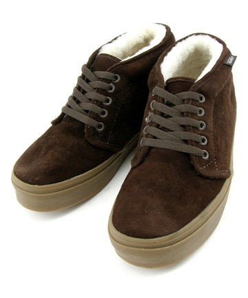 brown vans chukka flc