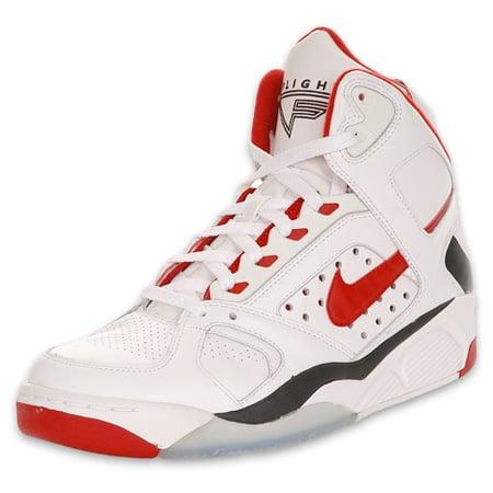 Nike Air Flight Lite High - Red / White / Black