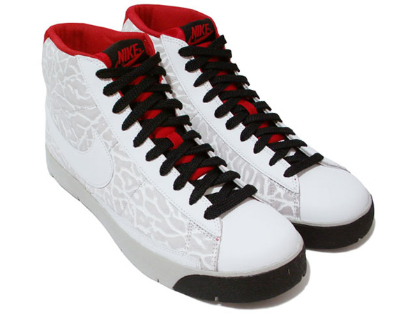Nike Super Blazer High Premium - White / Red / Black