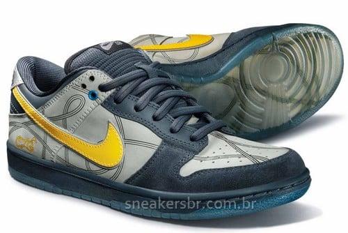 Nike SB Brazil Custom Series 3   Dunk Low Artist Edition