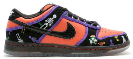 Best Halloween Shoes - Nike SB Dunk Low Premium Day of The Dead (3rd Best)