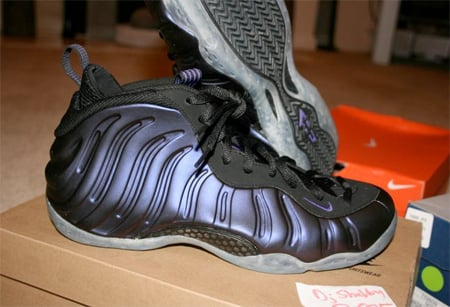 Nike Air Foamposite Sample - Eggplant