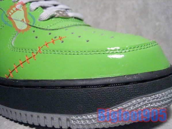 Best Halloween Shoes - Nike Air Force 1 Frankenstein (7th Best)