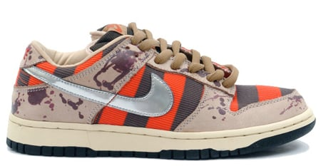 Best Halloween Shoes - Nike SB Dunk Low Freddy Kruger (4th Best)