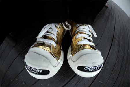 SILLY THING x Undercover Jack Purcell – Gold | Red