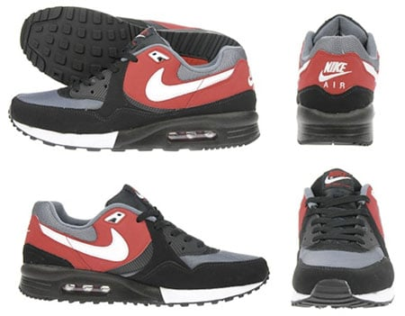 Nike Air Max Light - Black / White / Varsity Red | JD Sports
