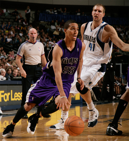 Kevin Martin Wearing Jordan Flight 23