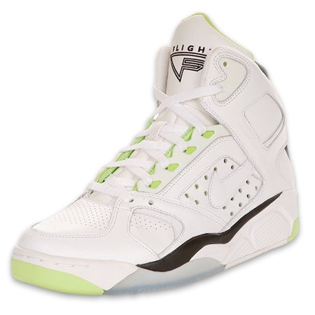 Nike Air Flight Lite High - White / Lime / Black