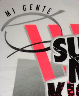 Mi Gente Clothing x Nike Air Tech Challenge II (2) T-Shirt