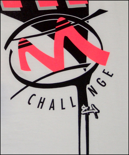 Mi Gente Clothing x Nike Air Tech Challenge II (2) T-Shirt