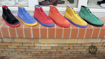 Nike Blazer High NBA Pack