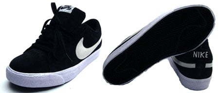 Nike SB Blazer Low - Black / White