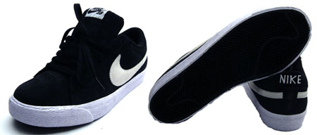 Nike SB Blazer Low - Black / White