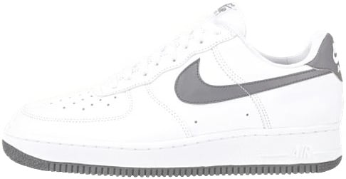 Nike Air Force 1 (Ones) 1992 Low White / Charcoal