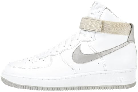 Nike Air Force 1 (Ones) 1991 High White   Metallic Silver  23d0676dd