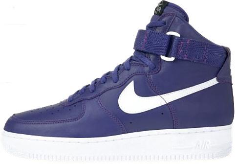 Nike Air Force 1 (Ones) 1993 High Purple / White